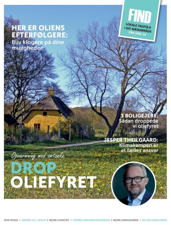 Drop oliefyret - Aarhus